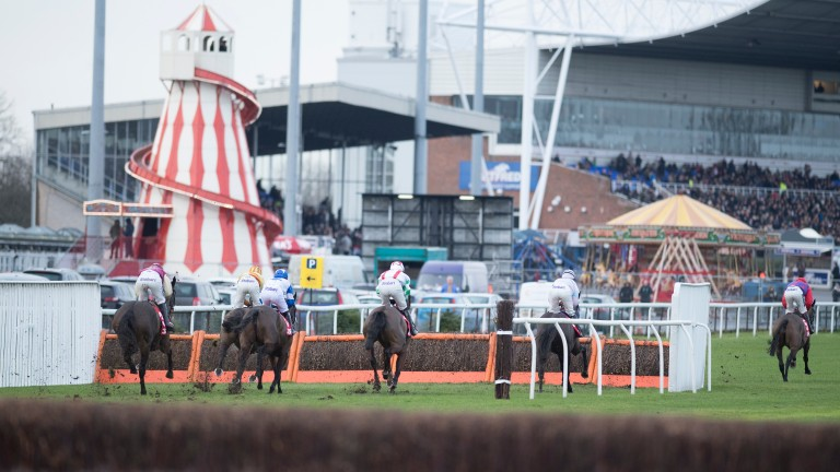 Kempton staged its popular Winter Festival, featuring the 32Red King George VI Chase, over Christmas