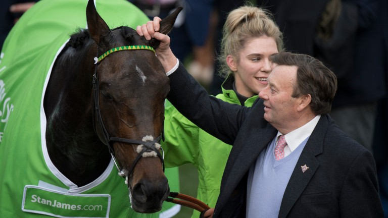 Buveur D'Air: Nicky Henderson's sixth Champion Hurdle winner heads the entries at Leopardstown