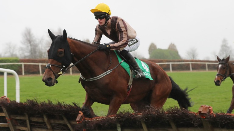Red Devil Lads, who was formerly with Rebecca Curtis, has shown improved form for Emmet Mullins