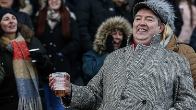 Beers and cheers: racegoers are loving the action in Sunbury