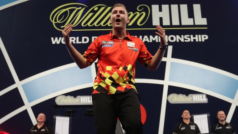 Dimitri van den Bergh can continue to wow the Ally Pally