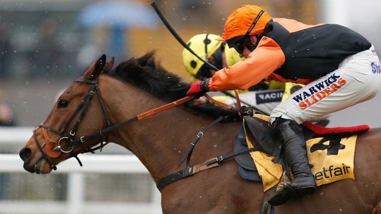 Tobefair: 140-rated hurdler can be in with a chance according to his rider Richard Johnson