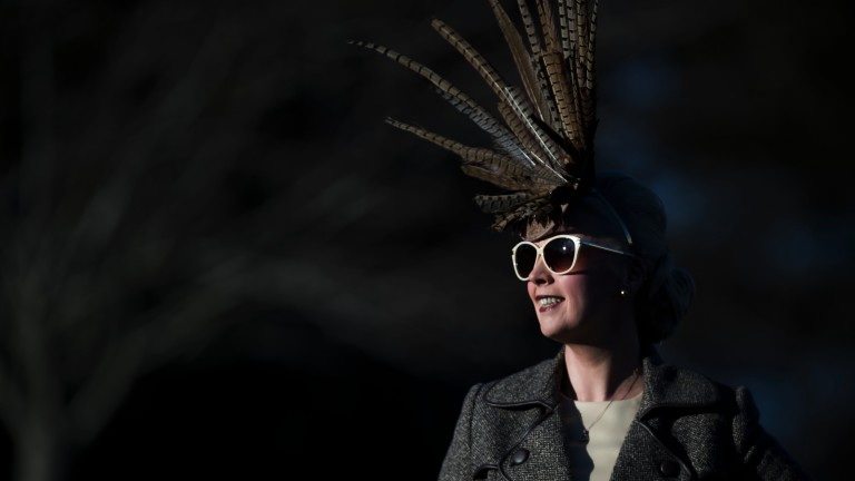 Dressed to impress: a wide range of fashion was on show on day three