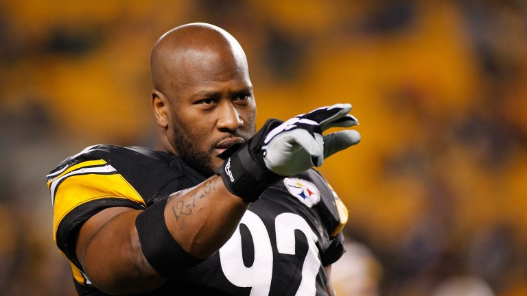James Harrison has left Pittsburgh for New England
