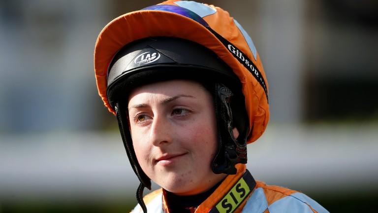 Gina Mangan: thrilled to return to the saddle
