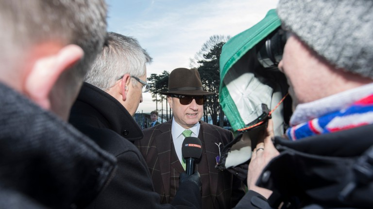 Rich Ricci is the centre of attention after Faugheen's flop