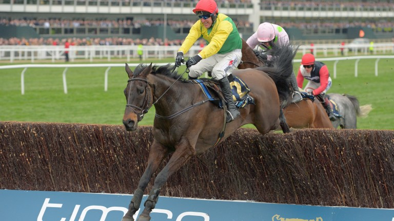 Sizing John and Robbie Power en route to winning the Cheltenham Gold Cup