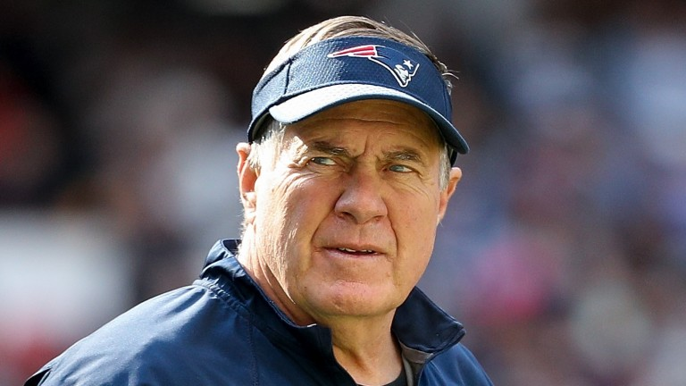 New England coach Bill Belichick