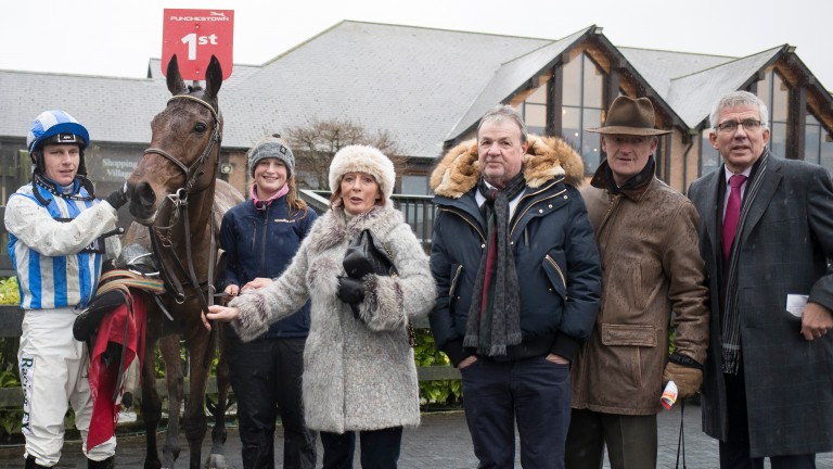 Killultagh Vic: made a successful reappearance from injury over hurdles at Punchestown last time