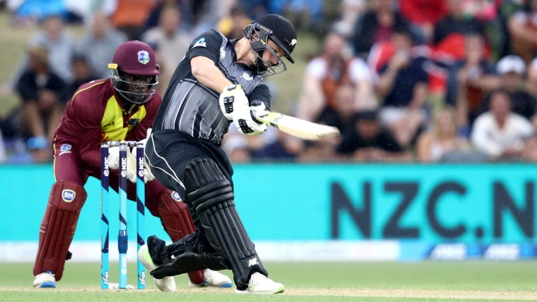 Colin Munro battered the West Indies bowling attack in Mount Maunganui