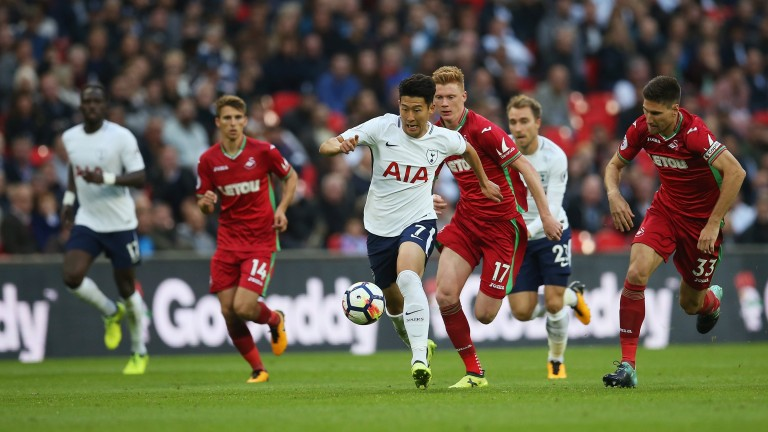 Heung-Min Son's Tottenham were held to a goalless draw by Swansea in September