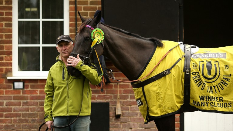 Many Clouds, who died in January after a battling performance at Cheltenham
