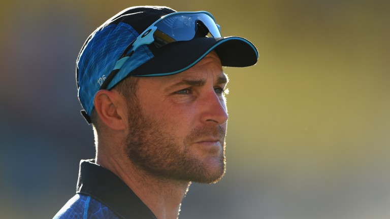 Brendon McCullum scored 61 runs at a 203.33 strike-rate