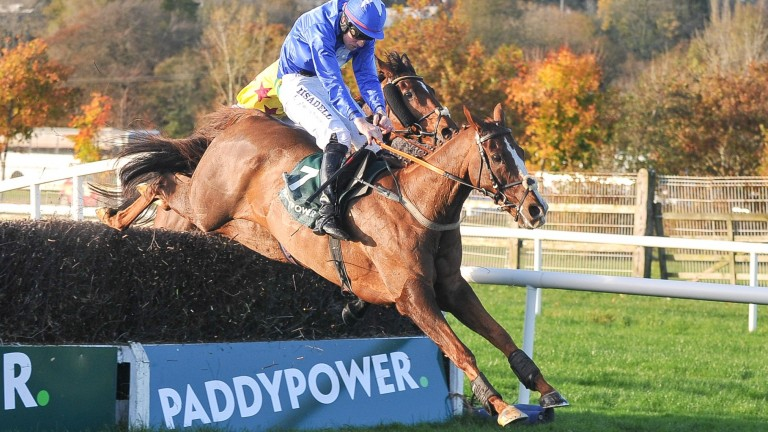 Ger Fox and subsequent Welsh Grand National winner Raz De Maree winning the Cork Grand National in 2016