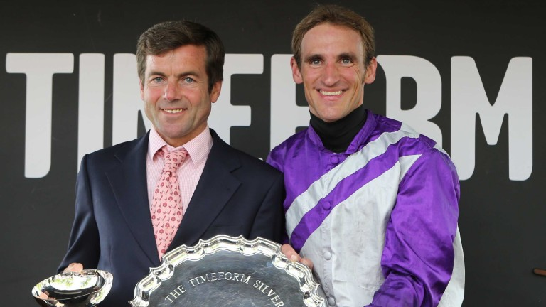 Eight-time champion jockey of Germany Andrasch Starke is 44