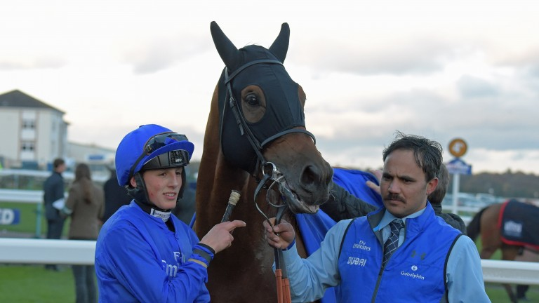 George Wood: won the November Handicap on Prize Money for Godolphin in 2016
