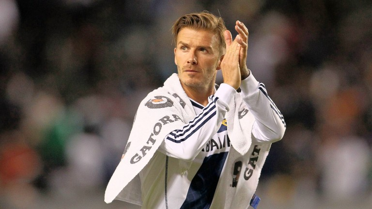 David Beckham: played for Preston at the same time as Philip Kirby