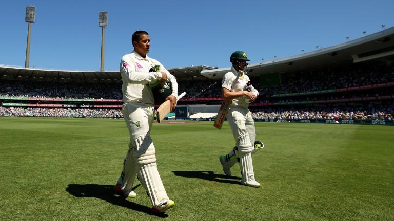 Usman Khawaja and Steve Smith are aiming to bat Australia into a commanding lead