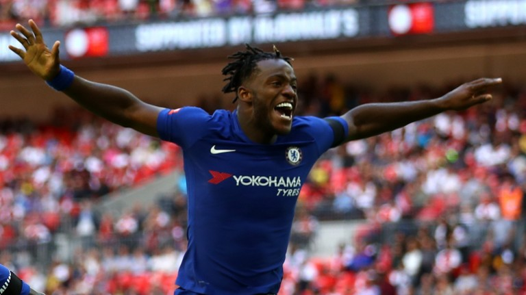 Michy Batshuayi could get a rare run-out for Chelsea