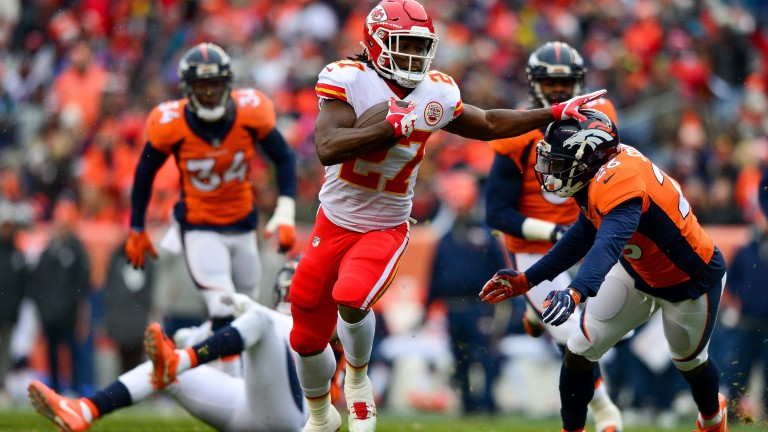 Rookie Kareem Hunt has had a great start to his Kansas City career