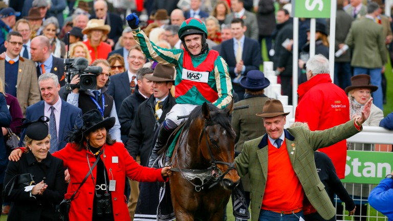 Un Temps Pour Tout twice ran at Trials day in preparation for wins at the Cheltenham Festival