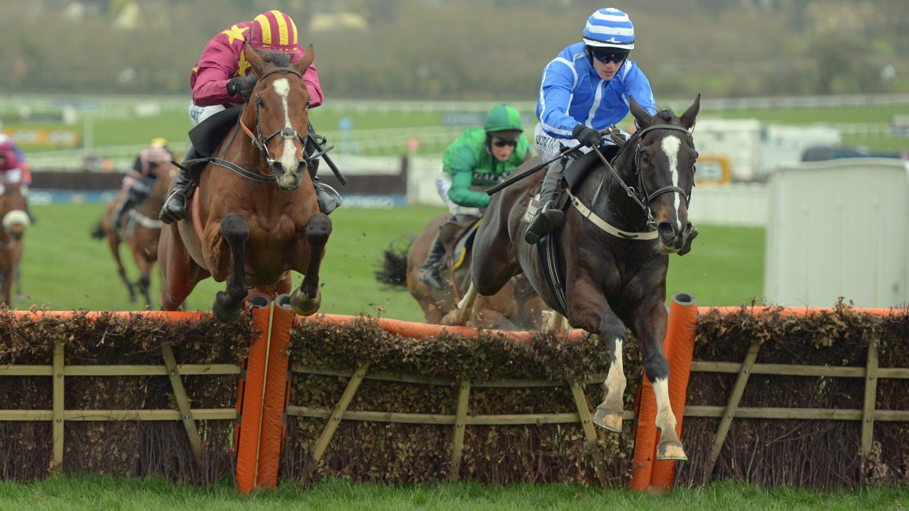 Invitation only heads mullins five strong team as trainer bids for right is penhill with p townend 1st from left monalee 2nd in albert bartlett novice hurdle at cheltenham 17 3 17 stopboris Choice Image