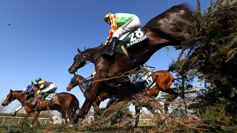 Aintree is keen to tell everyone that the Grand National is a race