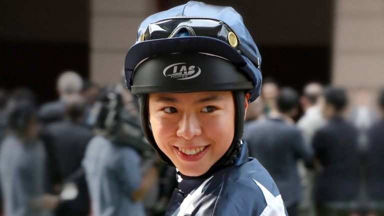 Kei Chiong: 58 wins in Hong Kong, the most earned by a female jockey in Hong Kong history
