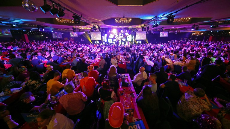 Fans lap up the actions at the BDO Lakeside World Professional Darts Championships