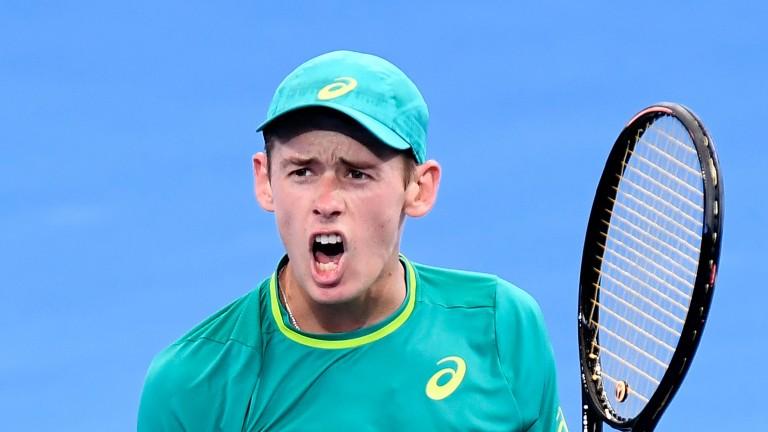 Alex De Minaur reached the semi-finals in Brisbane