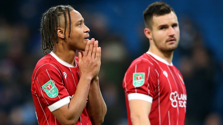 Bristol City's late heartbreak at the Etihad probably was in the script
