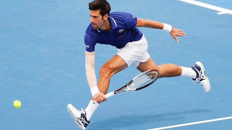 Novak Djokovic returned to tennis in Kooyong