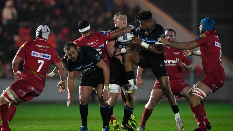 Bath were 18-13 winners at Scarlets in round two