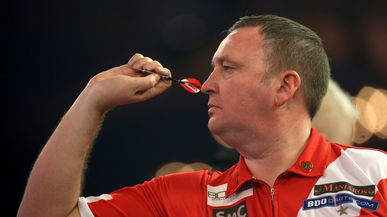 Glen Durrant looking to land back-to-back BDO titles