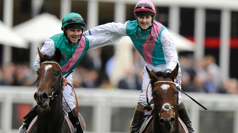 Brothers in arms: Frankel and Bullet Train