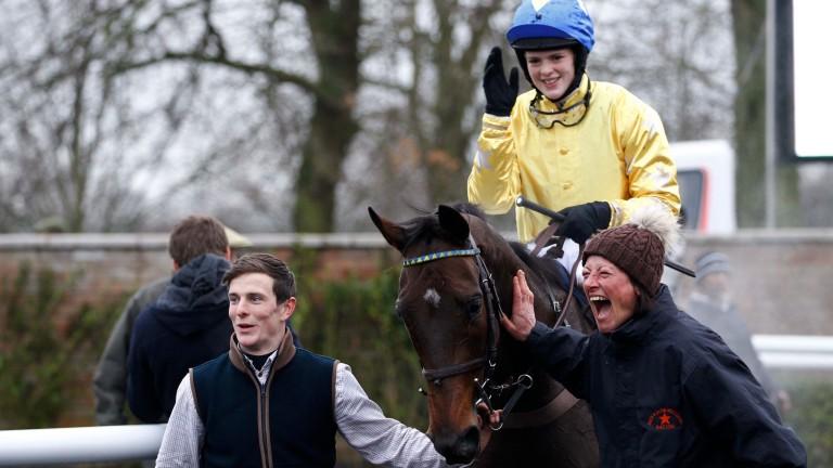 Esprit De Somoza: could be a dark horse for the Triumph