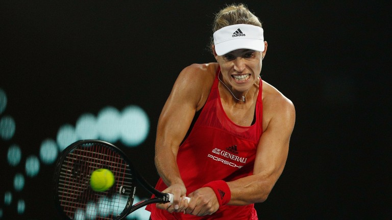 Angelique Kerber defeated Camila Giorgi in the Sydney semi-finals