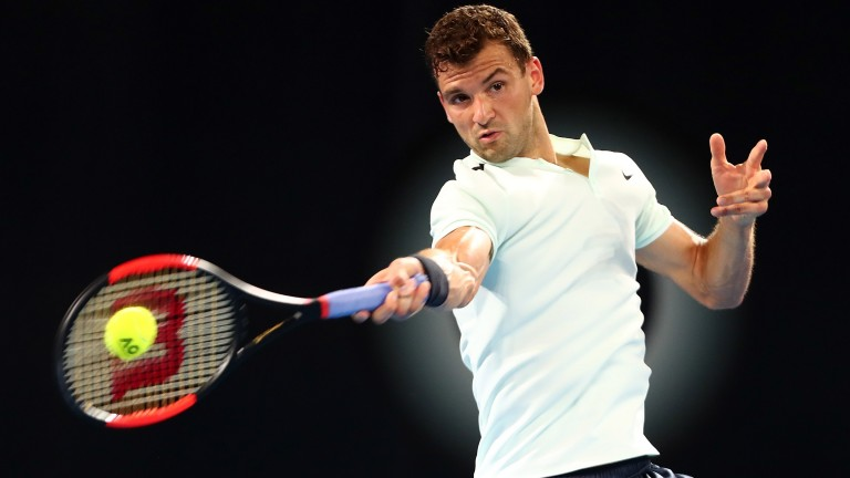Grigor Dimitrov lost to Rafa Nadal in the 2017 semi-finals