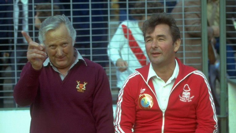 Brian Clough (right) and Peter Taylor rarely bought players at their peak
