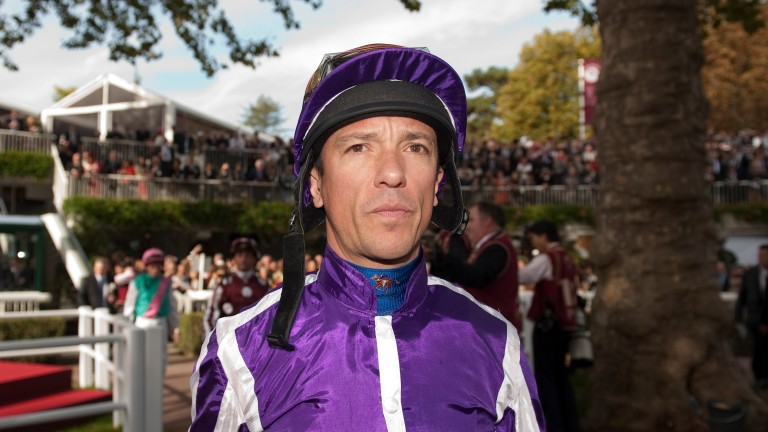 Food for thought: Dettori walks out for the Arc ride on Ballydoyle's Camelot knowing he would provoke a split with Godolphin and that he had already failed a test for cocaine