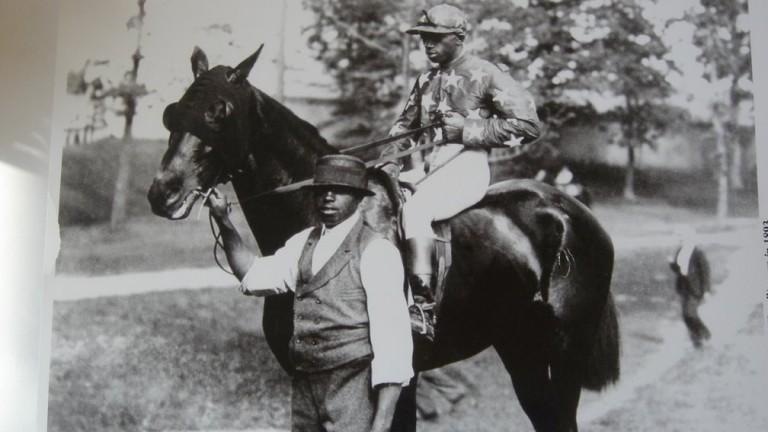 Jimmy Winkfield: probably best known as the last black jockey to win the Kentucky Derby