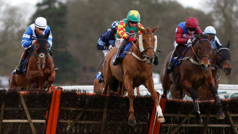 Lil Rockerfeller's first big hurdles win came in the National Spirit at Fontwell