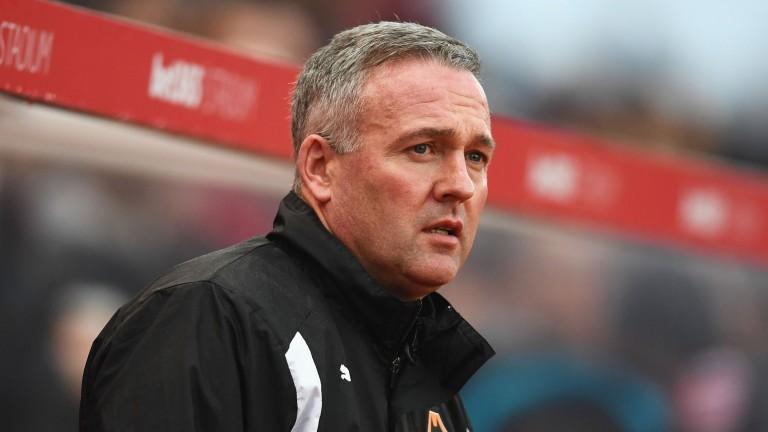 Paul Lambert replaces Mark Hughes as Stoke boss