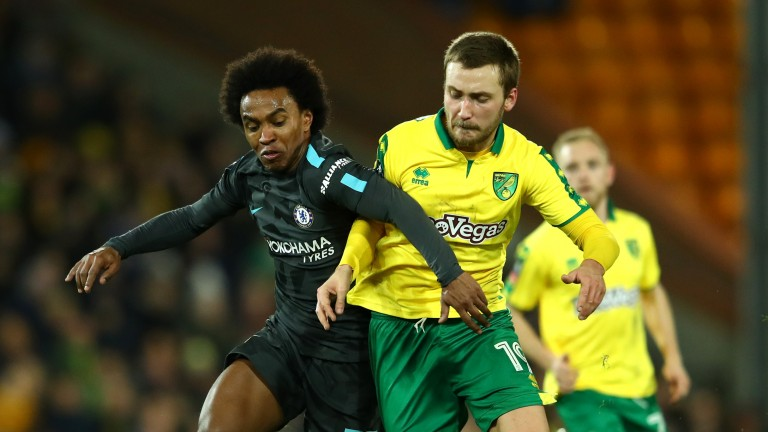Chelsea had little room for manoeuvre at Carrow Road