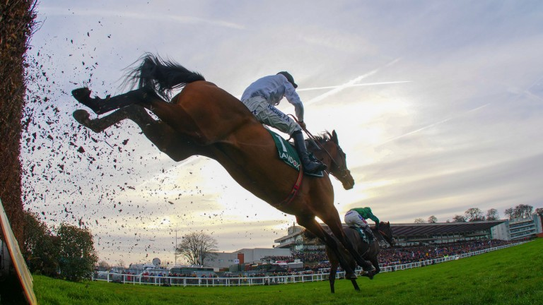 Brain Power goes for the Racing Post Arkle Chase