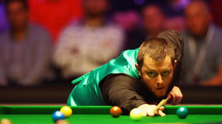 Mark Allen was an impressive winner against Luca Brecel in the first round