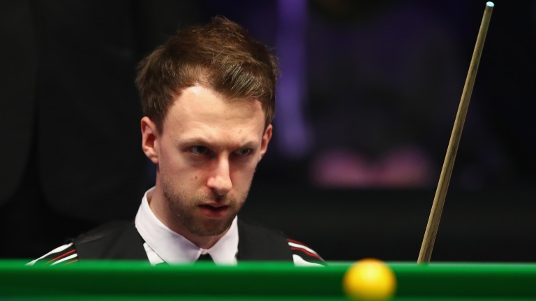 Judd Trump is closing in on a first Crucible final since 2011
