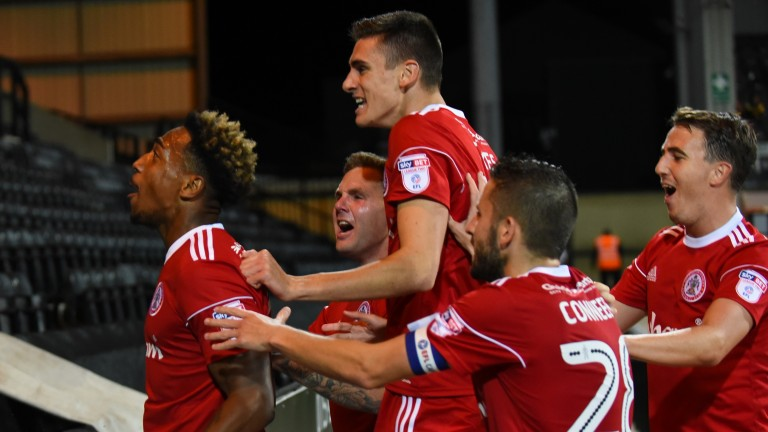 Accrington are third in League Two despite operating on a shoestring budget