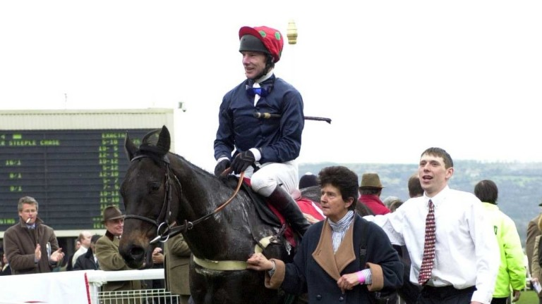 Cavalero returns after winning at the Cheltenham Festival in March 2000