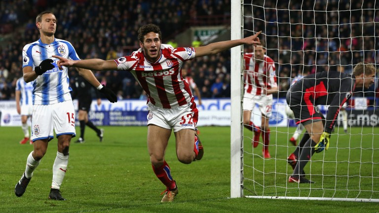 Stoke haven't had too many reasons to be cheerful this season